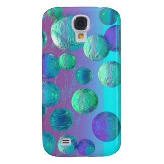 Ocean Dreams - Aqua and Violet Ocean Fantasy Samsung Galaxy S4 Case