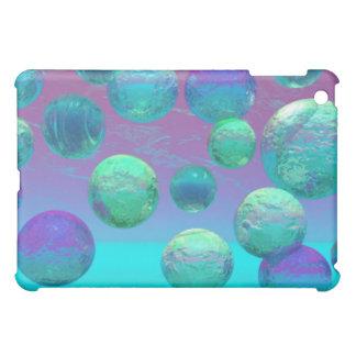 Ocean Dreams - Aqua and Violet Ocean Fantasy iPad Mini Covers