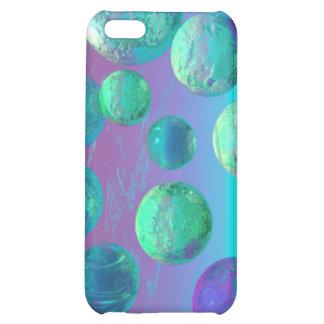 Ocean Dreams - Aqua and Violet Ocean Fantasy iPhone 5C Case