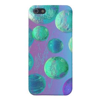 Ocean Dreams - Aqua and Violet Ocean Fantasy iPhone SE/5/5s Case