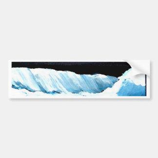 Ocean Dreams II - CricketDiane Ocean Waves Art Bumper Sticker