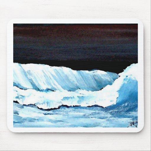 Ocean Dreams II - CricketDiane Ocean Waves Art Mouse Pad