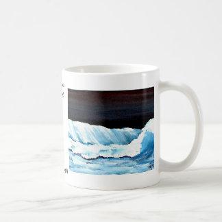 Ocean Dreams II - CricketDiane Ocean Waves Art Coffee Mugs