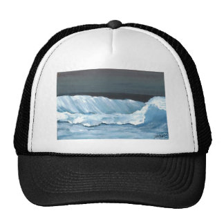 Ocean Dreams Sea Waves Night Moonlit Sea Trucker Hat