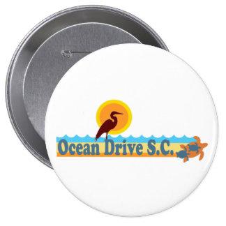 Ocean Drive Beach. Buttons