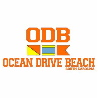 Ocean Drive Beach Photo Cutout
