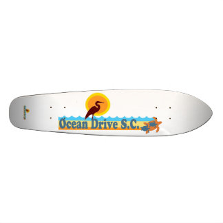 Ocean Drive Beach. Skateboard Deck