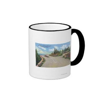 Ocean Drive Double Deck Road View Mugs