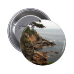 Ocean Drive in Acadia 2 Inch Round Button