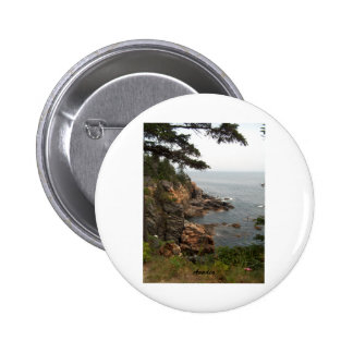 Ocean Drive in Acadia Buttons