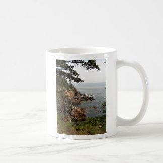 Ocean Drive in Acadia Mugs