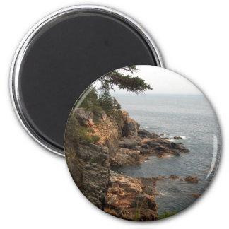 Ocean Drive in Acadia Refrigerator Magnet