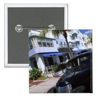 Ocean Drive, Miami Beach Florida Buttons