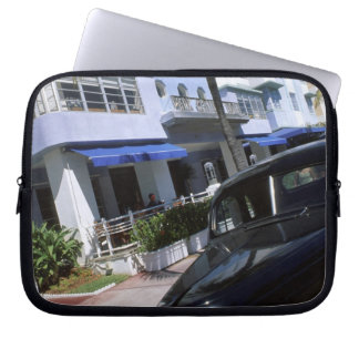 Ocean Drive, Miami Beach Florida Laptop Sleeve