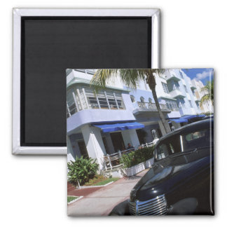 Ocean Drive, Miami Beach Florida Refrigerator Magnets