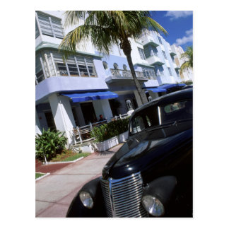 Ocean Drive, Miami Beach Florida Postcard