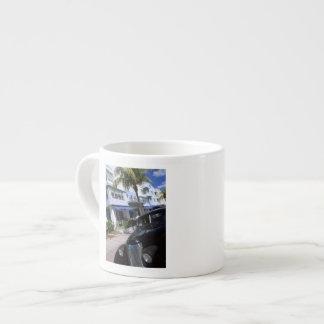 Ocean Drive, Miami Beach Florida Espresso Mug