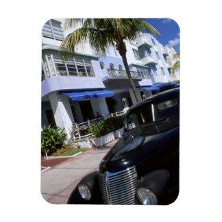 Ocean Drive, Miami Beach Florida Vinyl Magnets