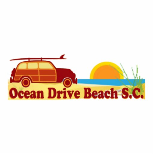 Ocean Drive. Photo Cut Out