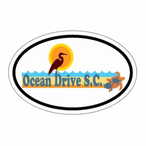 Ocean Drive. Photo Sculpture