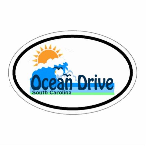 Ocean Drive. Photo Cutouts