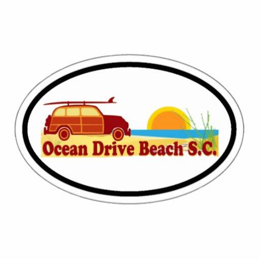 Ocean Drive. Photo Cut Outs