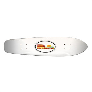 Ocean Drive. Skateboard