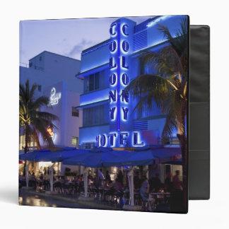 Ocean Drive, South Beach, Miami Beach, 2 3 Ring Binders