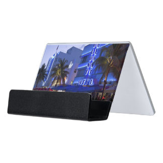 Miami Beach Business Card Holders & Cases