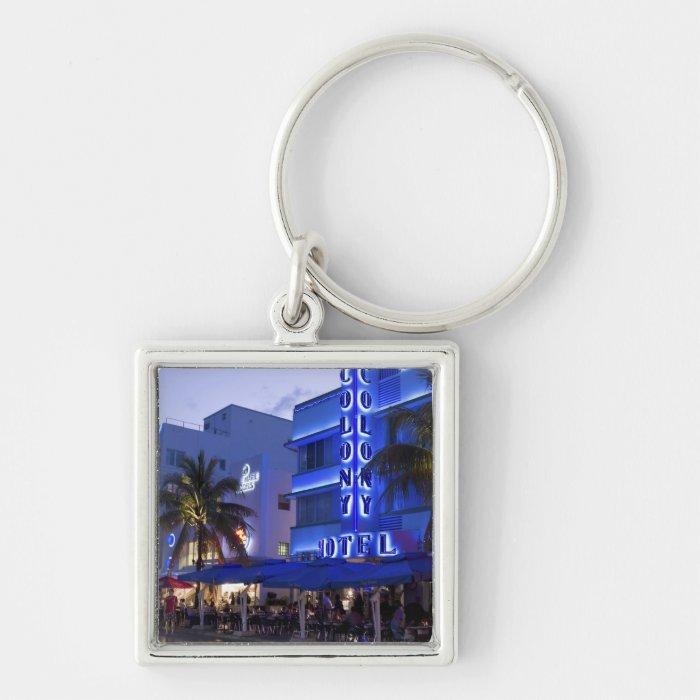 Ocean Drive, South Beach, Miami Beach, 2 Keychain