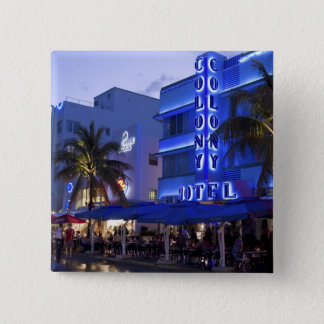 Ocean Drive, South Beach, Miami Beach, 2 Pinback Button