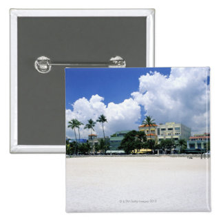 Ocean Drive, South Miam Beach, Miami - Florida Pinback Button
