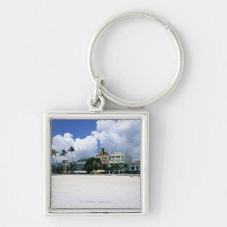 Ocean Drive, South Miam Beach, Miami - Florida Keychain