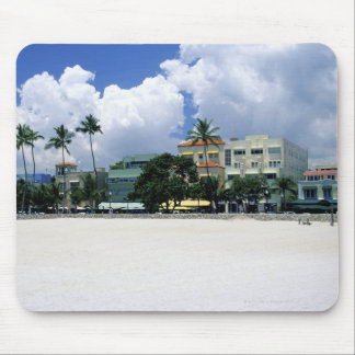 Ocean Drive, South Miam Beach, Miami - Florida Mouse Pad