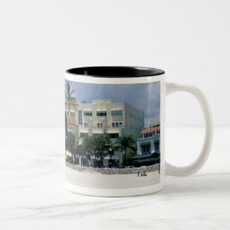 Ocean Drive, South Miam Beach, Miami - Florida Coffee Mug