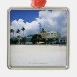 Ocean Drive, South Miam Beach, Miami - Florida Ornaments