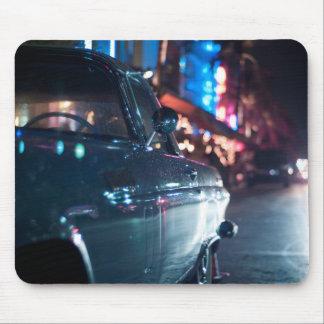 Ocean Drive vintage car Mouse Pad