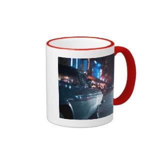 Ocean Drive vintage car Ringer Mug