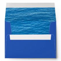 Ocean Envelope for Island or Tropical Wedding