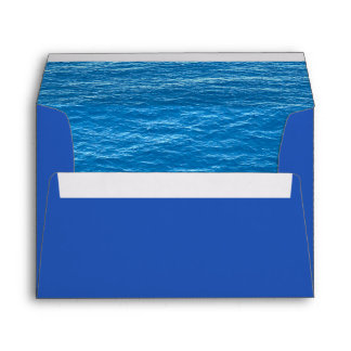 Ocean Envelope for Island or Tropical Wedding