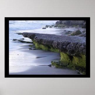 Ocean erosion bringer of new life poster