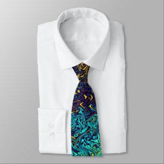 Ocean Exploration Fractal Neck Tie