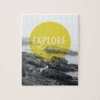 Ocean | Explore The World Quote Jigsaw Puzzle