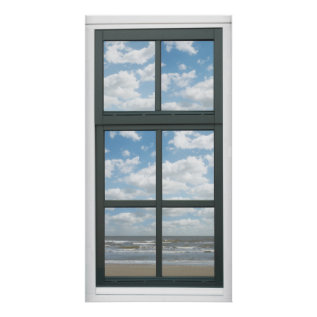 Ocean Fake Window View Poster at Zazzle