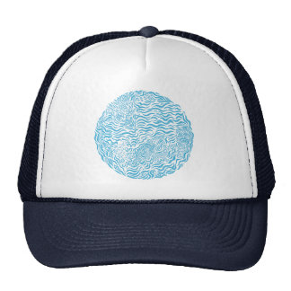Ocean Family Circle Trucker Hat