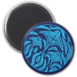 Ocean Family Manta Rays Magnet