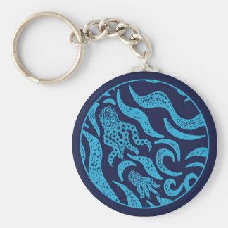 Ocean Family Octopus Keychain