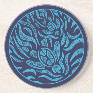 Ocean Family Sea Turtles Coaster