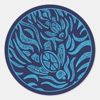 Ocean Family Sea Turtles Sticker