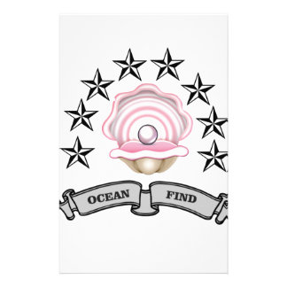 ocean find pearl stationery